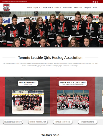 Toronto Leaside Girls Hockey Association