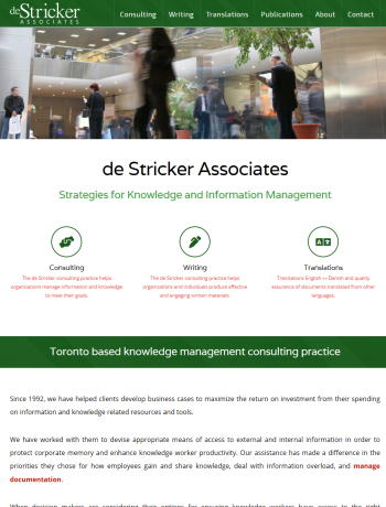 de Stricker Associates