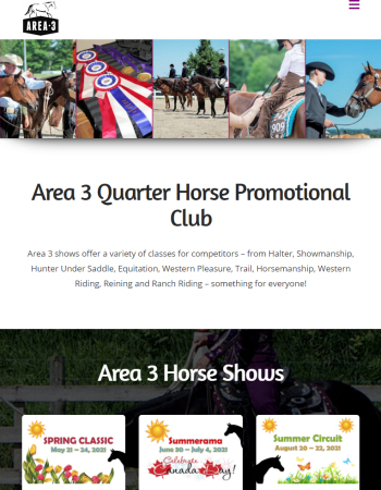 Area 3 Quarter Horse Promotional Club