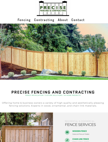 Precise Fencing and Contracting