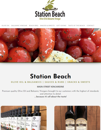 Station Beach Olive Oil & Balsamics